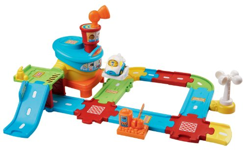 VTech Go! Go! Smart Wheels Airport Playset - 1