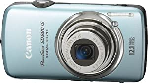 Canon PowerShot SD980IS 12.1MP Digital Camera with 5x Ultra Wide Angle Optical Image Stabilized Zoom and 3-inch LCD (Blue)