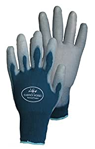 Sun grips garden gloves blue small patio for Gardening gloves amazon