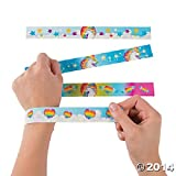 Fun-Express-Unicorn-Metal-Slap-Bracelets-12-Pieces