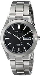 Seiko Men's SGG707 Titanium Watch