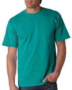 Gildan Adult Ultra Cotton T-Shirt, Jade Dome, Large. 2000