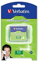 Verbatim 1 GB CompactFlash? Card