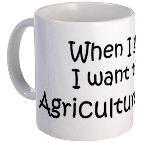 CafePress Grow Up Agriculture Teacher Coffee Mug - Standard