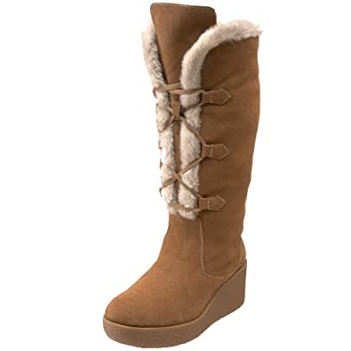 Amazon.com: MICHAEL Michael Kors Women's Winter Wedge Boot