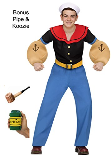 Popeye the Sailor Man Teen Costume