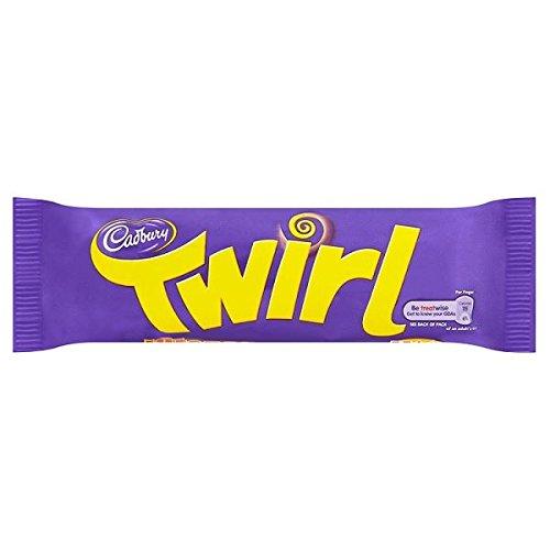 Cadbury Twirl Chocolate 48 x 43g Bars (Bulk Buy)