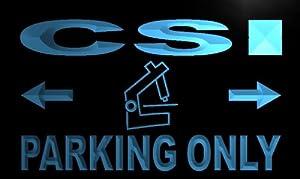 ADV PRO m257-b CSI Parking Only Neon Light Sign