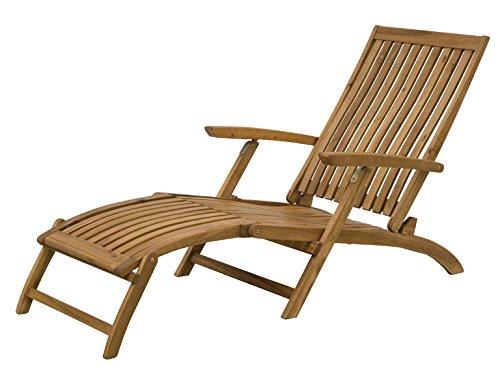 Siena Garden 120519 Deckchair Paleros Akazienholz FSC® 100% Beschläge aus galvanisiertem Stahl