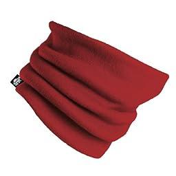 Original Turtle Fur Fleece - The Turtle\'s Neck, Heavyweight Neck Warmer, Red