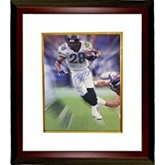 Fred Taylor Autographed Hand Signed Jacksonville Jaguars 16x20 Photo Custom Framed by Hall of Fame Memorabilia