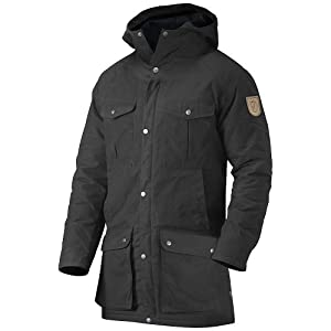 Fjallraven Greenland Parka - Men's Black Small