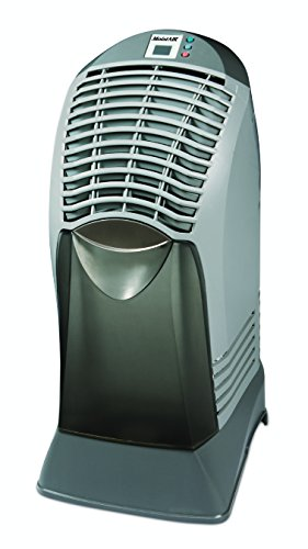 AIRCARE MA0601 Digital Tower-Style Evaporative Humidifier, Black/Gray - 1