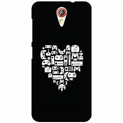 HTC Desire 620G Back Cover - Heart Designer Cases