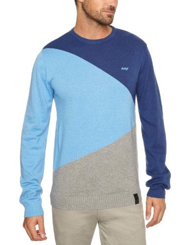 Reef Pellows Sweater Men's Sweatshirt Vintage Blue Small