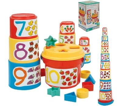 Battat Sort And Stack Toy front-681181