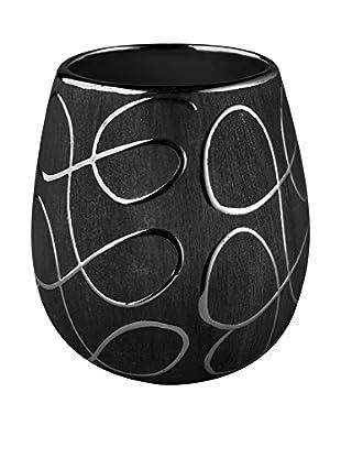 Bisk Vaso Baño Elegance Negro