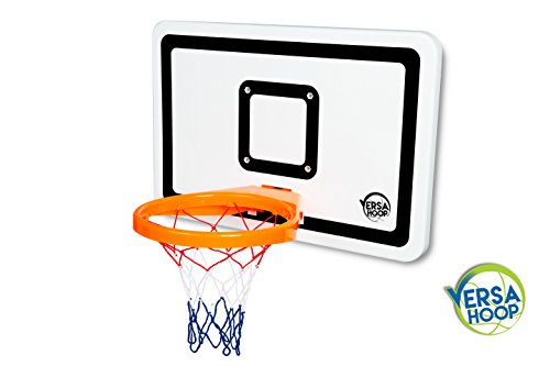 VersaHoop-PLUS-Mini-Basketball-Set-for-Trampoline-Beach-UTV-Golf-Cart-Playground-RV-Boat-Tailgating-Black-Lines