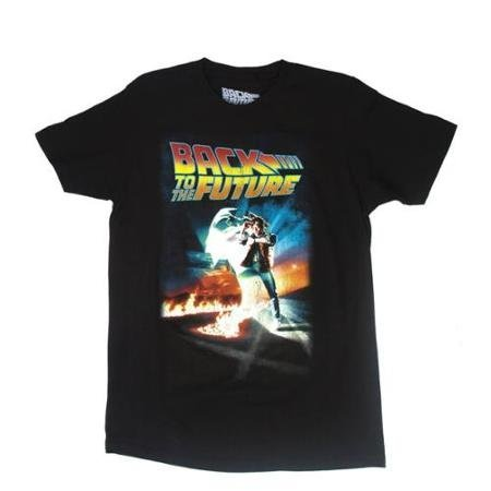 Back to the Future Poster Mens Short-Sleeve T-Shirt