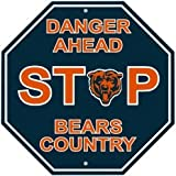 Chicago Bears Stop Sign