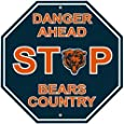 NFL Chicago Bears Stop Sign