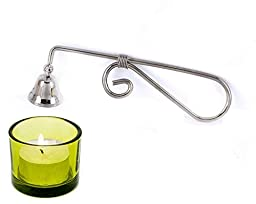 NAVA Candle Accessory - Silver Bell Snuffer
