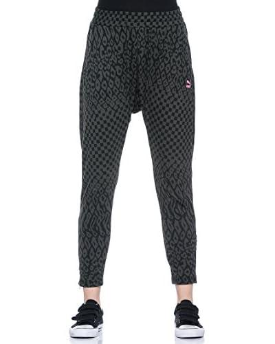 Puma Pantalone Printed Knit [Black]