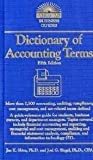 Dictionary of Accounting Terms (Barrons Dictionary of Accounting Terms) 5th (fifth) edition