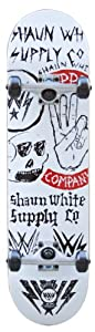 Shaun White Supply Co. Street Complete Skateboard - Hand