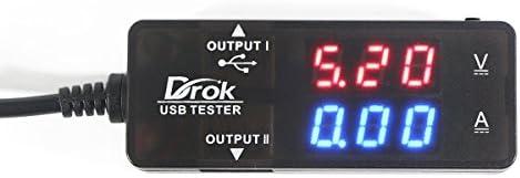 Drok Digital Ampere Voltage Multimeter
