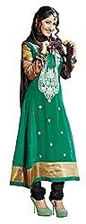 atisundar charming Green Embroidered Anarkali- 4124_39_304