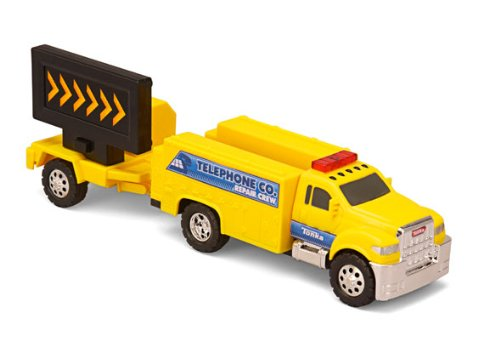 Tonka Road Crew Haulers Telephone Co. Repair Crew Truck Flashing Lights