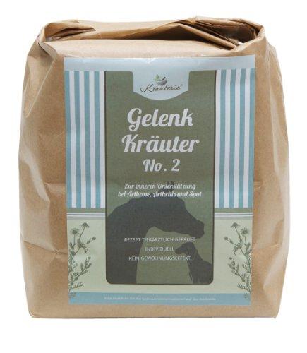 Bild von: Gelenk Kräuter No. 2 für Hunde - Hundekräuter bei HD & Arthrose gelenkstärkend in Arzneibuch-Qualität | Mit Grünlippmuschel - 250 g PULVER
