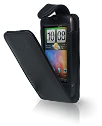 Cygnett Cy0147chlav Black Lavish Flip Case For Htc Desire