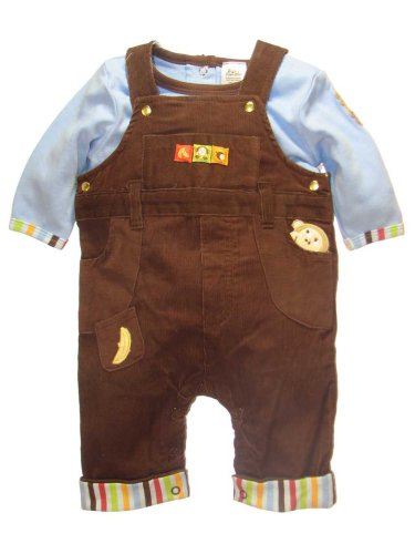Monkey 2pc Overall Outfit by Baby Essentials - Buy Monkey 2pc Overall Outfit by Baby Essentials - Purchase Monkey 2pc Overall Outfit by Baby Essentials (Baby Essentials, Baby Essentials Apparel, Baby Essentials Toddler Boys Apparel, Apparel, Departments, Kids & Baby, Infants & Toddlers, Boys, Pants)