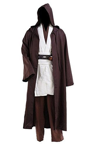 [Dben Mens Cosplay Costume Tunic Robe Full Set] (Malcolm Merlyn Costume)