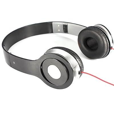 Coollife 3.5mm Foldable Stereo Headphone Earphone Headset for DJ PC MP3 MP4 PC