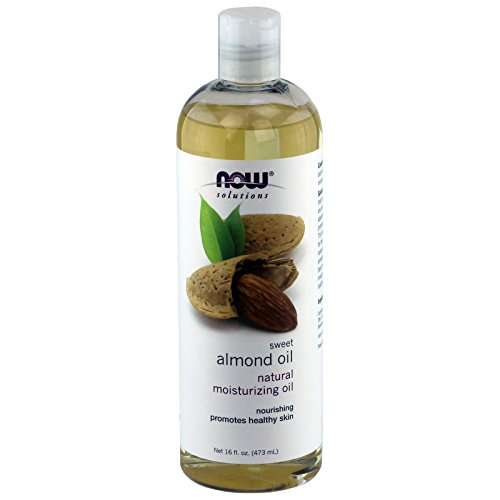 NOW solutions Sweet Almond Oil, Moisturizing Oil, 16 ounce (Natural Almond Oil compare prices)