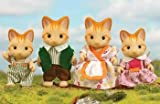 Sylvanian Families - Ginger Cat Family
