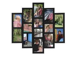 Black LAYERS collage displays 14 photos by Malden Design -
