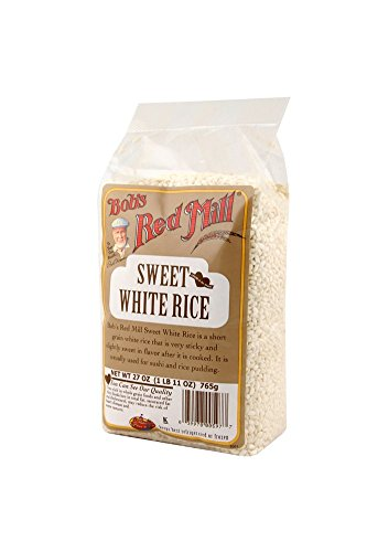 Sweet white rice