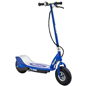 Razor E300 Electric Scooter Blue Amazon Ca Sports