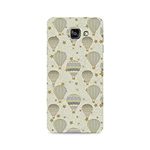 Rubix Customized Designer Hard Back Phone Case of Stars and Balloons for Samsung Galaxy A7 (2016)