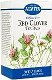 Alvita Red Clover Caffeine Free - 30 Tea Bags, 2 Pack