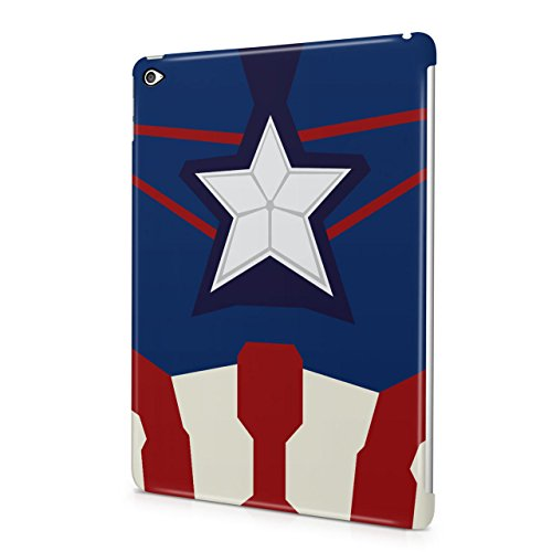 Captain America Suit The Avengers Superhero Hard Snap-On Protective Case Cover For Apple iPad Air 2