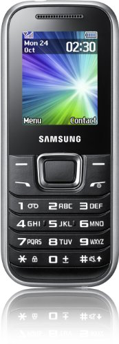 Samsung E1230 Handy (4,6 cm (1,8 Zoll) TFT-Farbdisplay, 3,5 cm Klinkenanschluss, UKW-Radio) silber