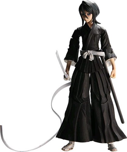 Bleach : Rukia Kuchiki Shinigami Play Arts Kai Action Figure