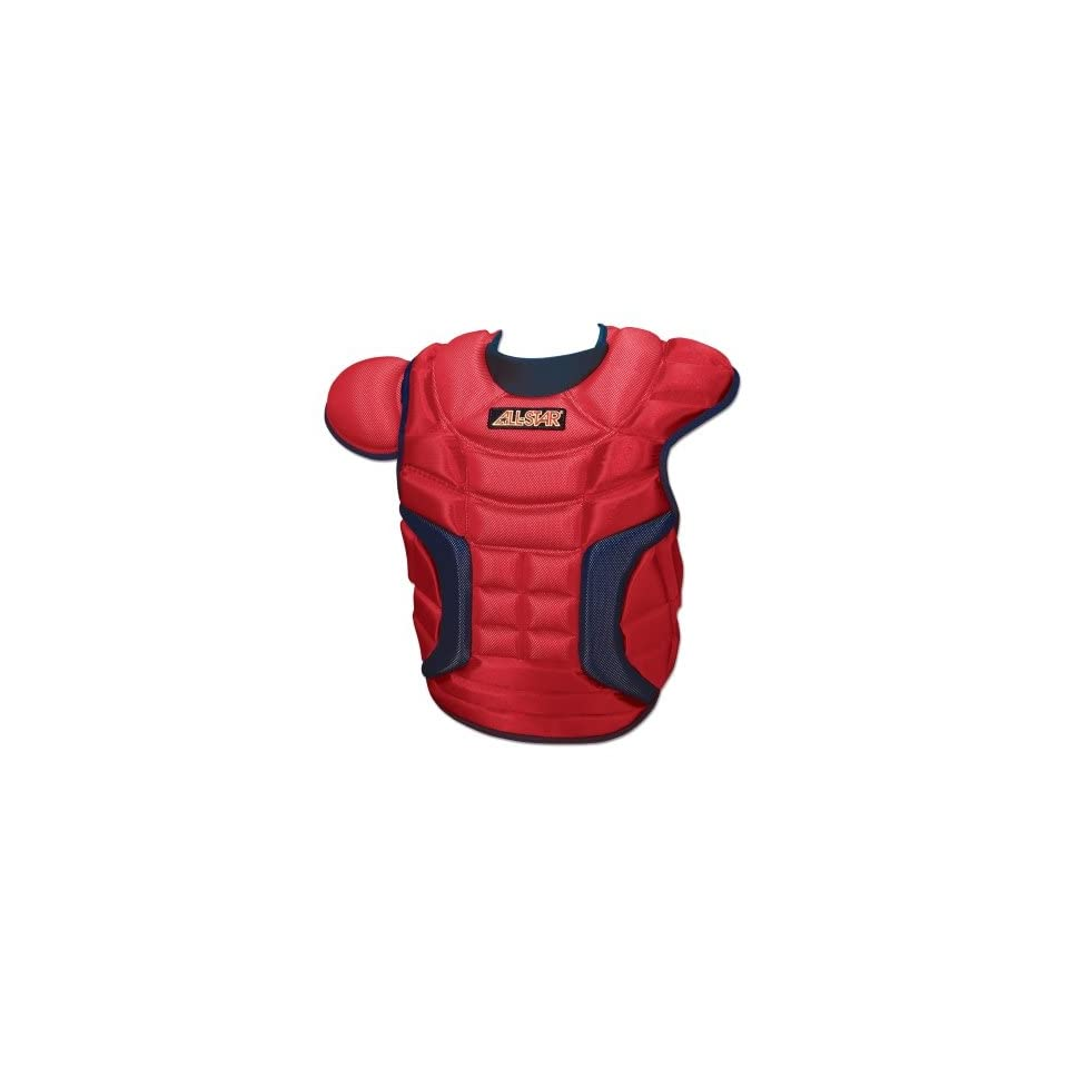 ALL STAR CP28PRO Ultra Cool 16.5 Inch Chest Protector   Navy/Gold