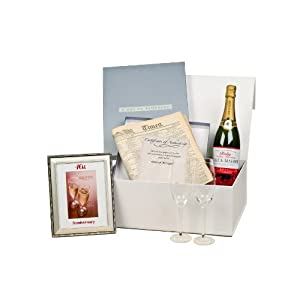 ... 40th Wedding Anniversary Gift Box: Amazon.co.uk: Kitchen & Home