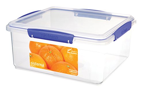sistema-klip-it-food-storage-container-5-l-clear-with-blue-clips